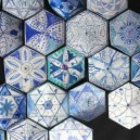 19-blue-hexagonal-tiles-floral-pattern
