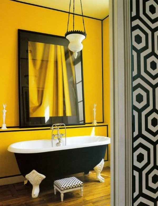 19-cheerful-white-black-and-yellow-bathroom-interior-design