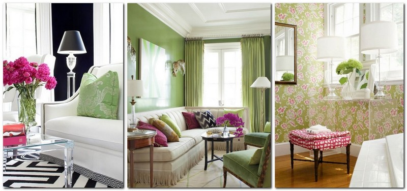 2-2-greenery-color-pantone-green-color-in-interior-design-color-of-the-year-2017-pink-living-room