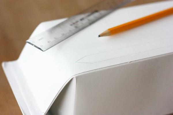2-DIY-hand-made-Christmas-light-houses-milk-juice-cartons-re-use-ideas