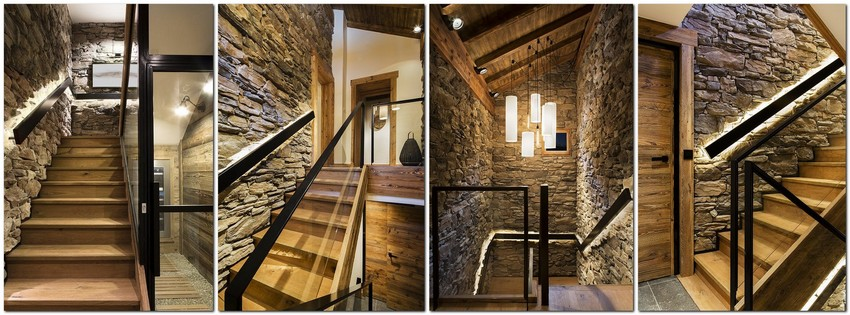 2-chalet-style-interior-design-stone-wood-glass-staircase