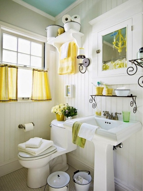 2-cheerful-white-and-yellow-bathroom-interior-design-retro-style-forged-shelves