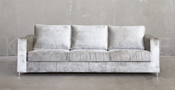 2-gray-velvet-upjolstered-sofa