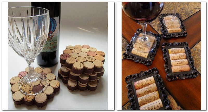 2-wine-cork-re-use-ideas-hand-made-coaster-mat-trivet