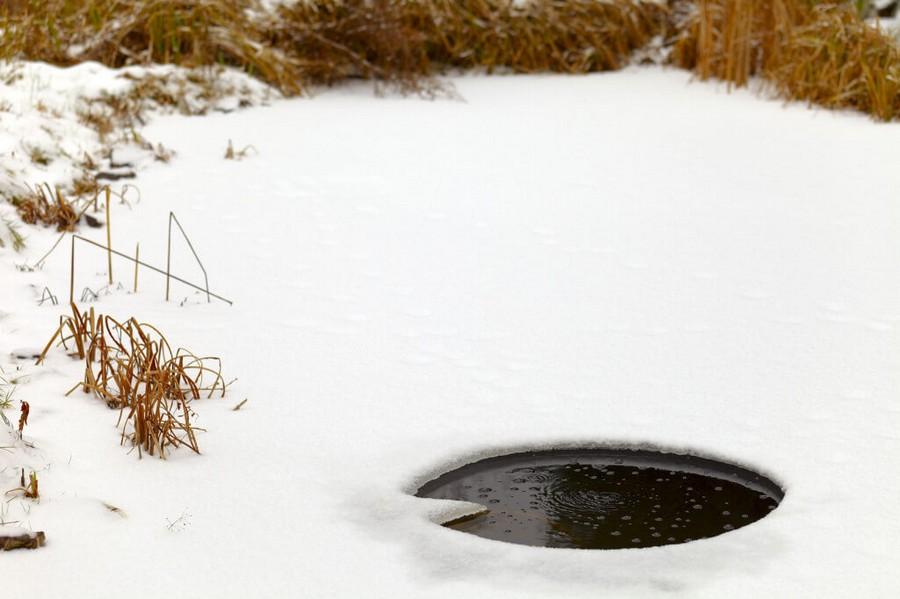 2-winter-garden-pond-ice-hole