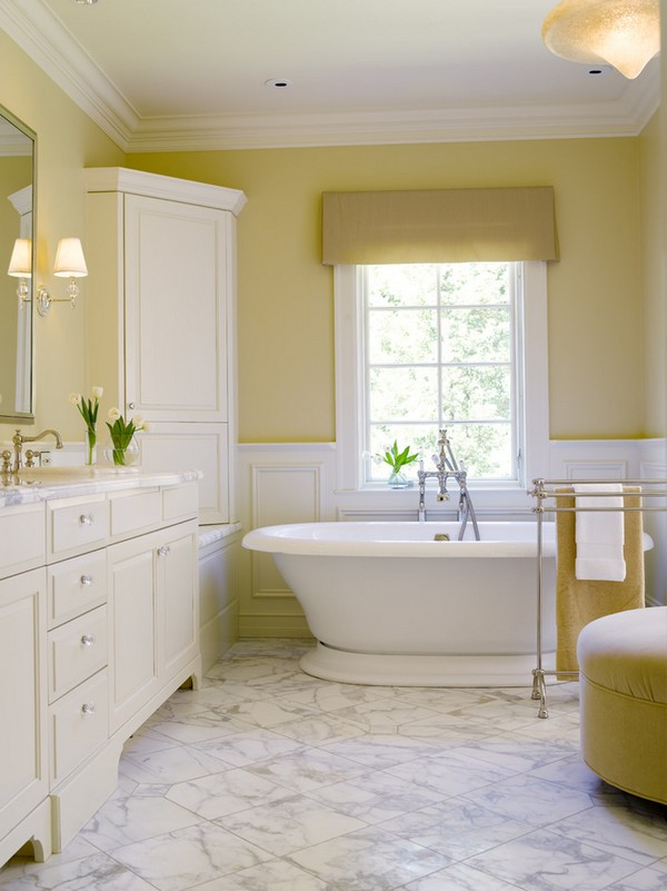 23-cheerful-pastel-white-and-yellow-bathroom-interior-design