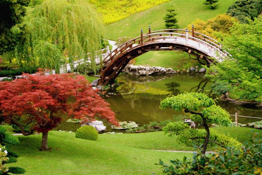 3-2-beautiful-Japanese-garden-pond-bridge