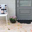 3-DIY-remake-tvis-door-mat-black-IKEA-half-moon-cloud-shaped