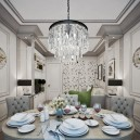 3-elegant-luxurious-light-gray-and-beige-pastel-neo-classical-interior-design-crown-moldings-crystal-chandelier-fornasetti-plates-wallpaper-dining-living-room-set