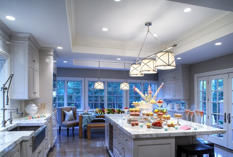 3-kitchen-island-marble-worktop-pendant-lamps-panoramic-windows-beautiful-view