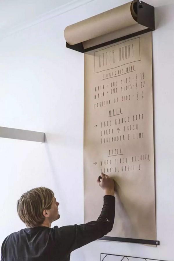 3-recipe-organization-storage-ideas-wall-mounted-kraft-paper-roll-dispenser