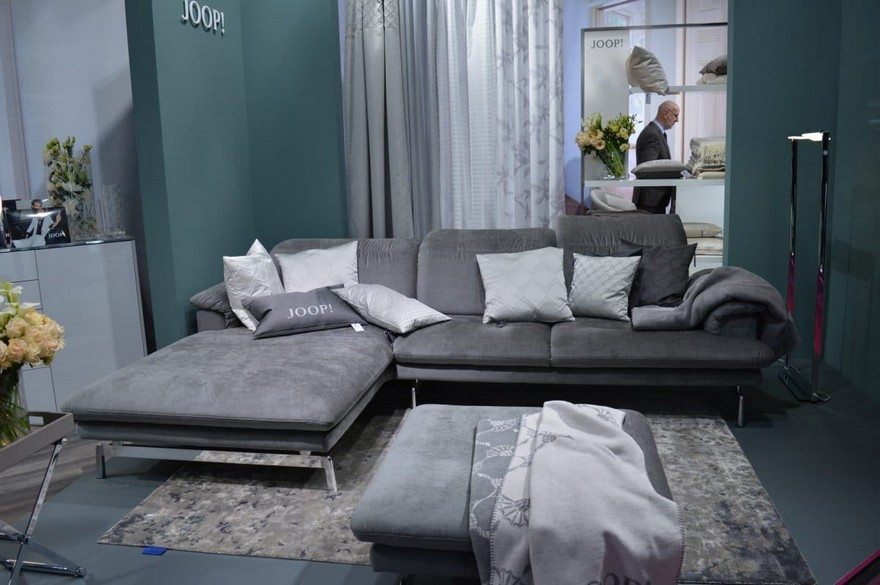 Best of home textile trade fair heimtextil 2017 home - Joop loft sofa ...