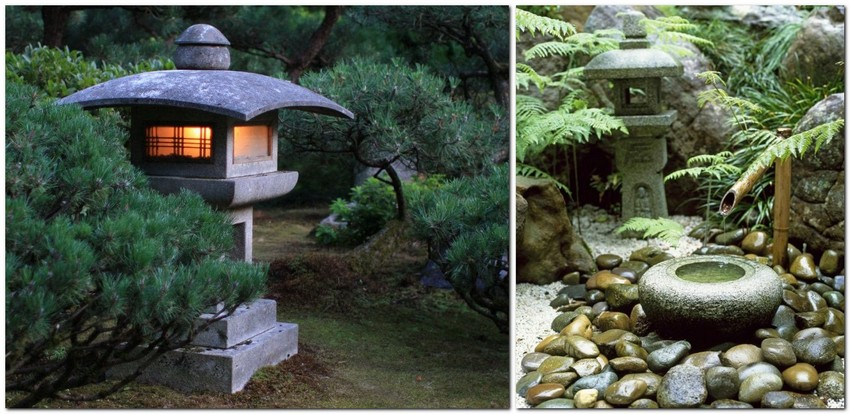 4-beautiful-Japanese-garden-stone-lantern