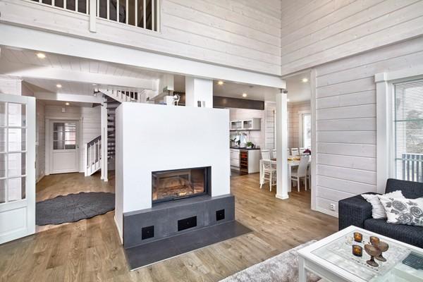 4 White And Gray Scandinavian Style Interior Design