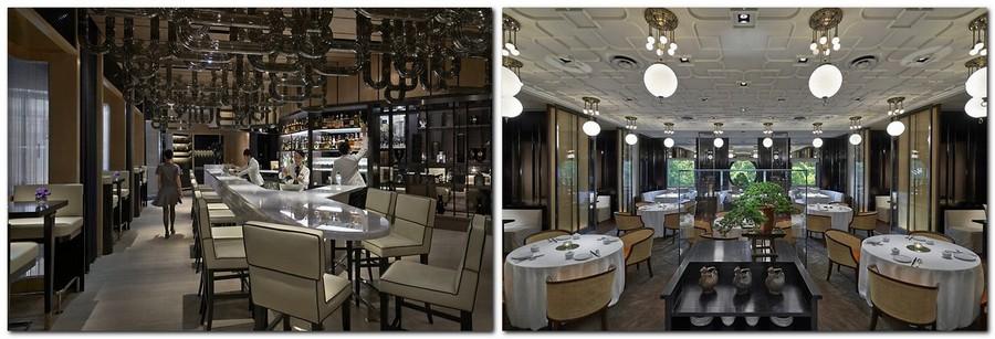 5-2-Mandarin-Oriental-Hotel-Taiwan -Mandarin-Oriental-Hotel-Taiwan-interior-design -classical-French-style-restaurant-neutral-colors-beige