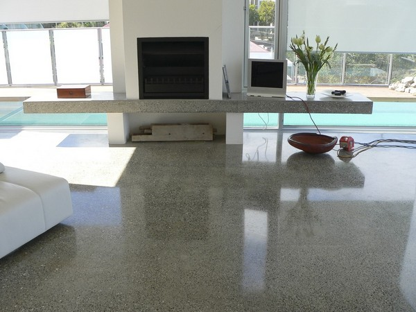 Polished Concrete The Perfect Floor Covering Home Interior Design Kitchen And Bathroom