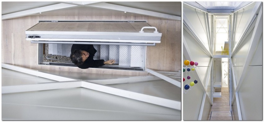 6-world's-narrowest-houses-centrala-studio-Keret-house-Warsaw-Poland-narrow-room-interior-design-staircase-unusual-architecture