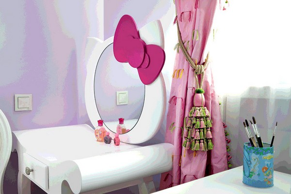 7-bright-toddler-kid's-girl's-bedroom-playroom-room-interior-design-pink-lilac-red-hello-kitty-inspired-furniture-decor
