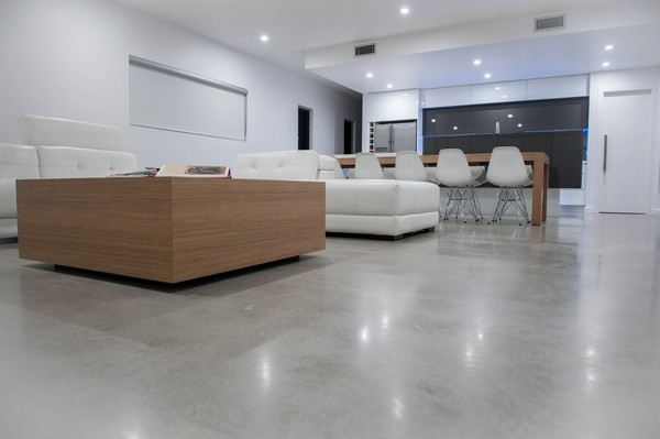 Beau 7 Polished Concrete Floor In Interior Design Living