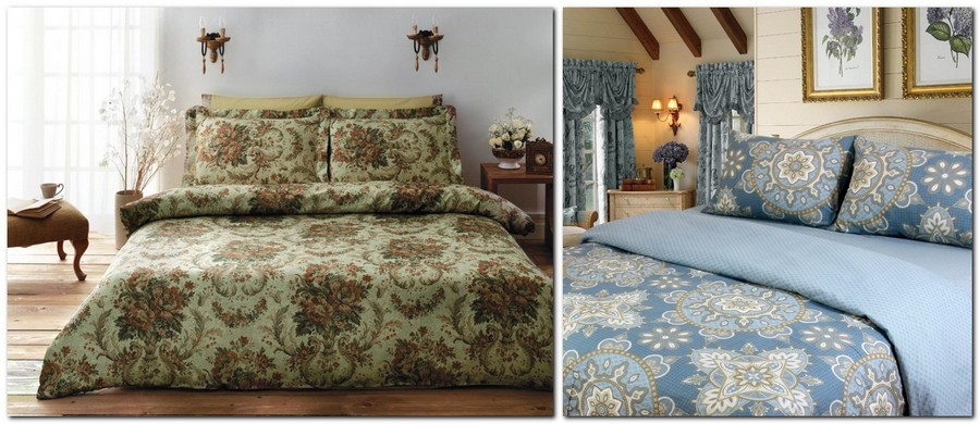 8-2-beautiful-autumn-fall-and-winter-bed-linen-patterns-floral-motives-green-blue-brown-beige