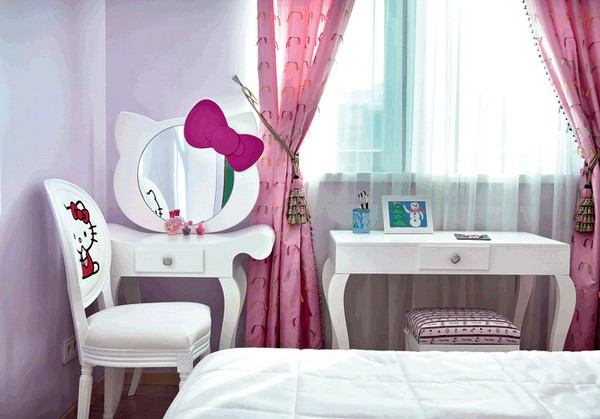 8-bright-toddler-kid's-girl's-bedroom-playroom-room-interior-design-pink-lilac-red-hello-kitty-inspired-furniture-decor