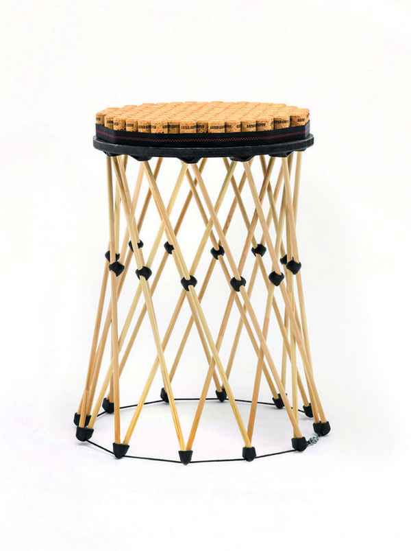 9-shukhov-shabolovka-tower-inspired-designer-stool-wooden-modular-Russian-furniture-printed-on-3D-printer-item