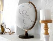 DIY: Handmade Vintage Globe
