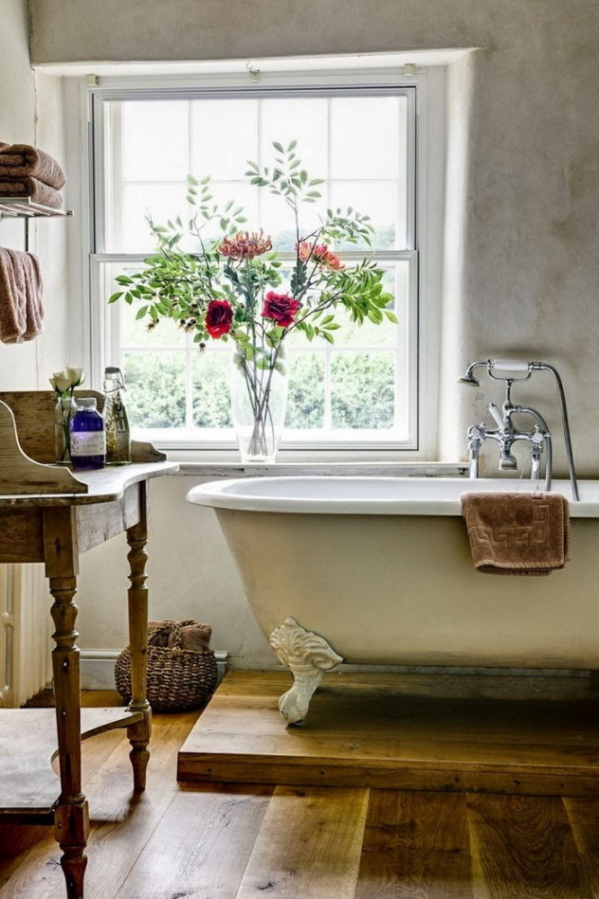 Typical Features of ProvenceStyle Bathrooms Home Interior Design