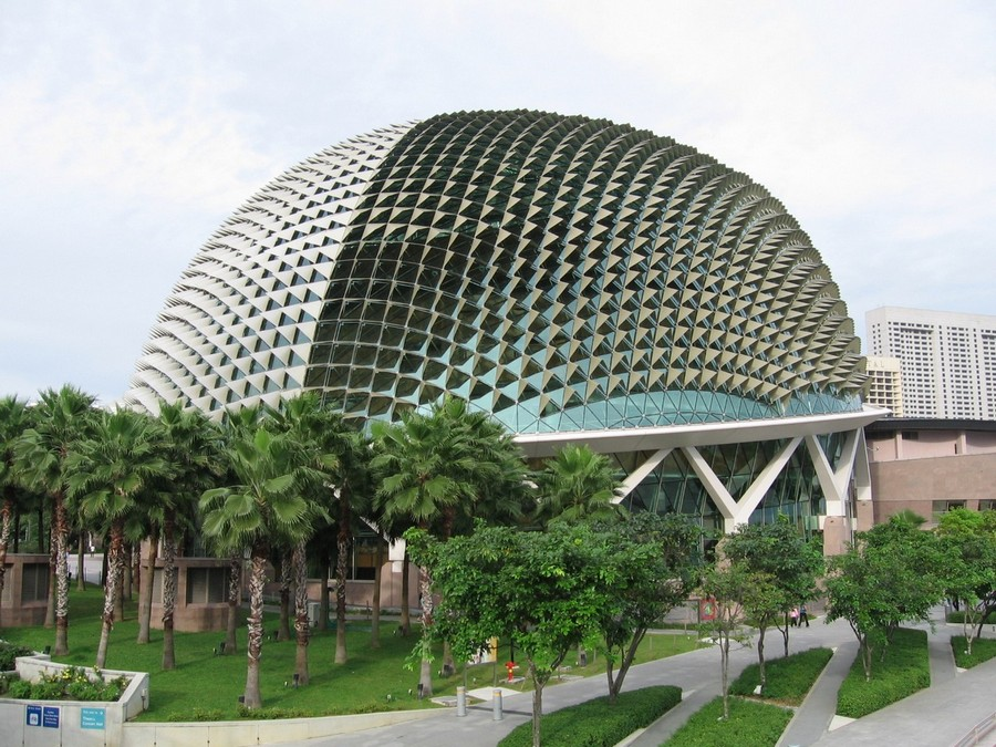 Biomimicry amp Design Spiky Durian Roof Of Singaporean