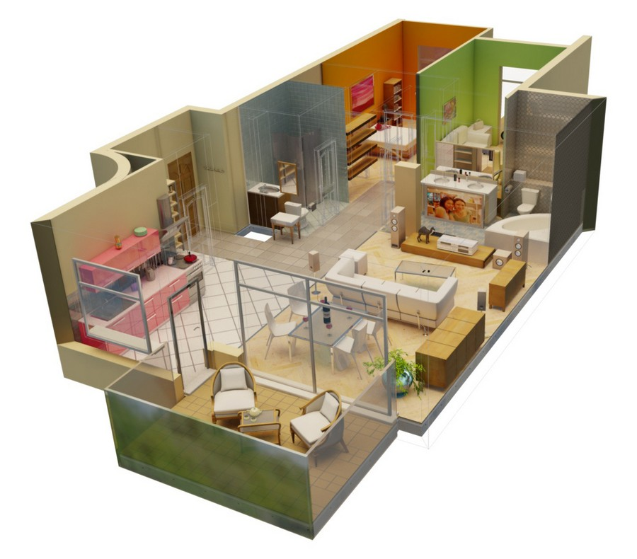 Lovely 0 Interior Design Project Preparation 3D Plan Layout