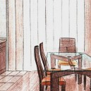 0-interior-design-project-preparation-dining-room-kitchen-sketch-drawing-in-color-pencil