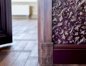 Lincrusta Eco Wall Covering in Interior Design (Part 1)