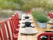 15 Reasons to Have Red Dining Chairs