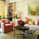 0-tricks-ideas-how-to-expand-small-tiny-living-room-interior-design-visually-skirts-sofa-arm-chair-slip-cases-pink-and-yellow-green-stripy-picture