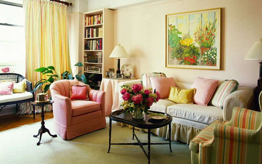Living Room Cases how to expand a small living room visually: 8 tips | home interior