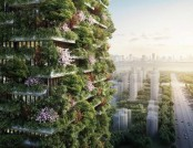 "Two More ""Vertical Forest"" Buildings Projected for China"