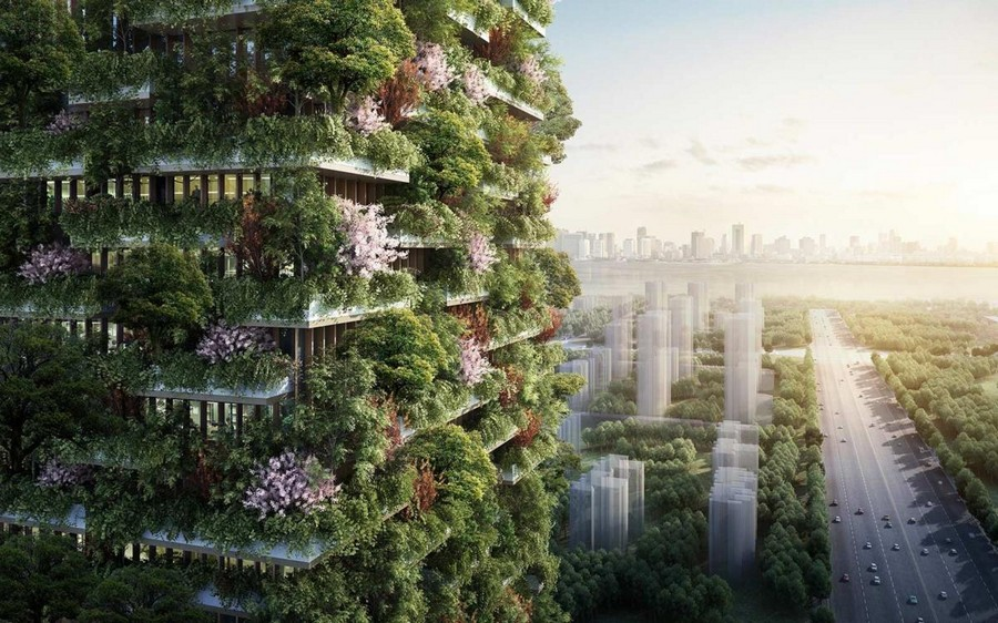 Two More Vertical Forest Buildings Projected For China