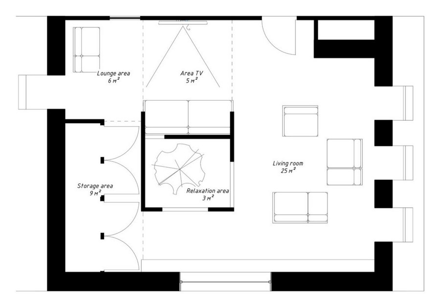 1-2-attic-floor-interior-design-in-contemporary-modern-style-open-space-modular-furniture-sofas-soaring-cube-layout-plan-scheme