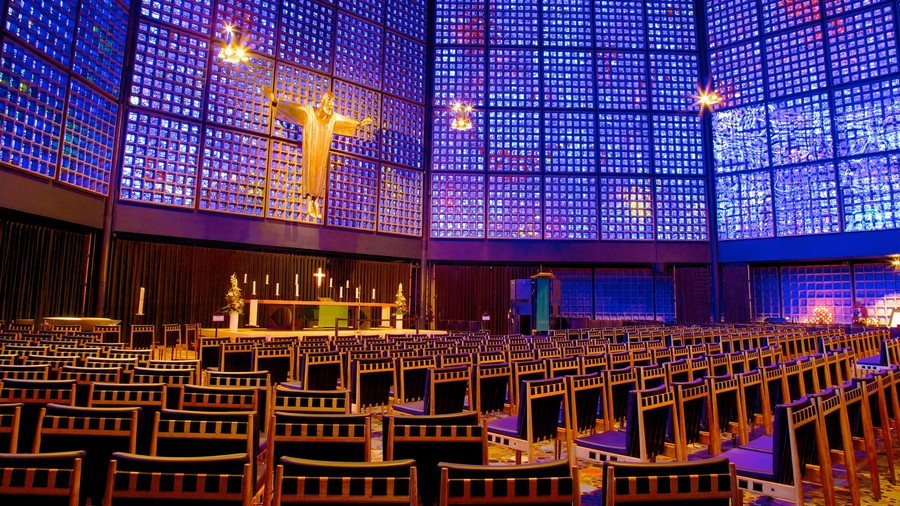 1-3-Berlin-interesting-buildings-sights-architecture-the-Kaiser-Wilhelm-Memorial-Church-interior-Jesus-blue-glass