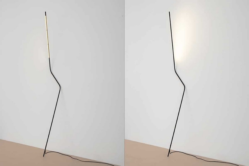 1-Neo-lamp-design-LED-rod-rotating-floor-lamp-without-lampshade-and-base-by-creative-young-designers-IMM-Cologne-Pure-Talents-contest-2017-winners-Bernhard-Osann