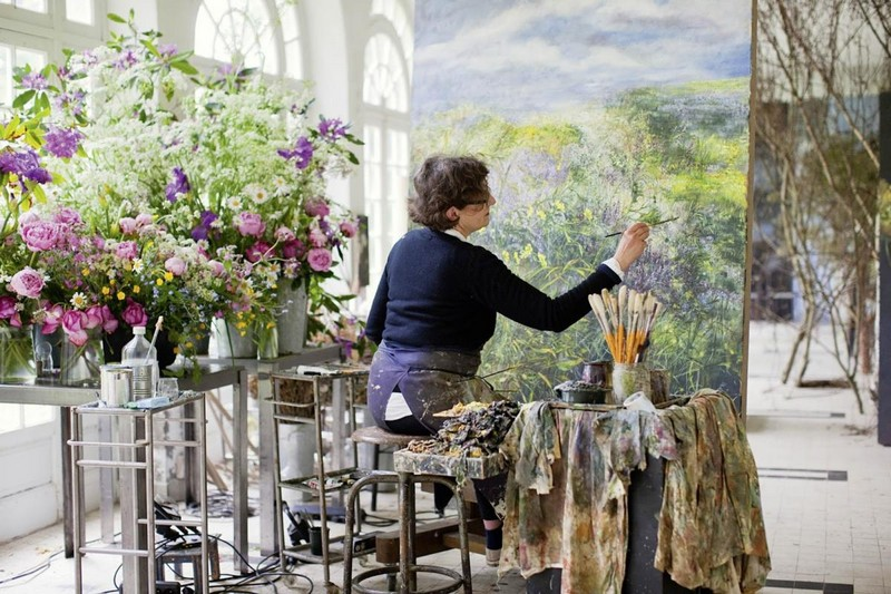 1-claire-basler-naturalist-painter-flower-paintings-nature-contemporary-artworks-studio