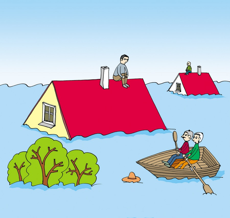 1-flood-flooded-house-home-man-on-roof