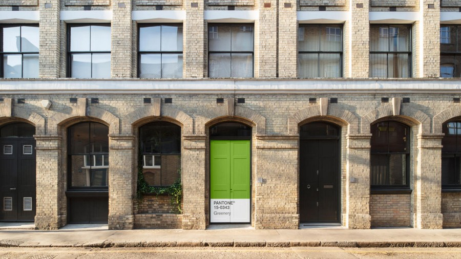 1-green-eco-naturalistic-style-house-for-rent-by-Pantone-Airbnb-London-greenery-entrance-door-porch
