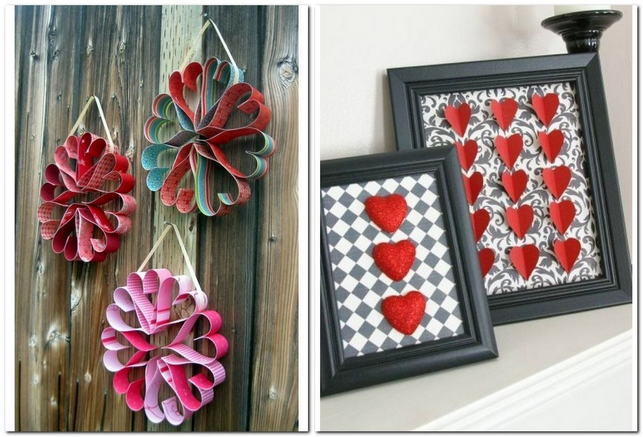 17-how-to-decorate-room-for-Valentine's-Day-decor-ideas-paper-flowers-from-hearts-in-photo-frame