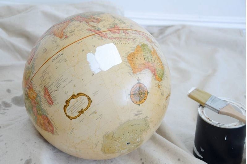2-DIY-handmade-vintage-white-painted-globe