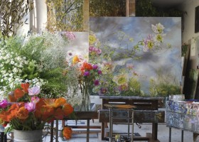 2-claire-basler-naturalist-painter-flower-paintings-nature-contemporary-artworks-studio