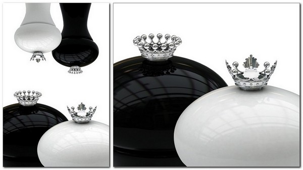 2-he-and-she-perfect-couple-man-and-woman-salt-and-pepper-shaker-set-design-chess-pieces-with-sterling-crowns-black-and-white-ceramic
