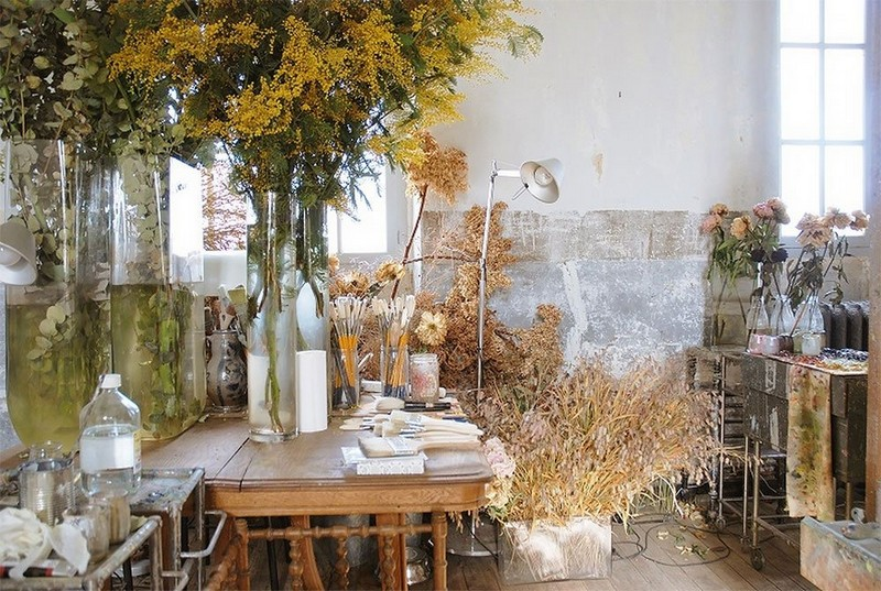 21-claire-basler-naturalist-painter-flower-paintings-nature-contemporary-artworks-studio