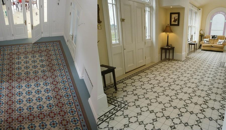 3-Mettlach-tiles-in-interior-design-entry-room-hallway