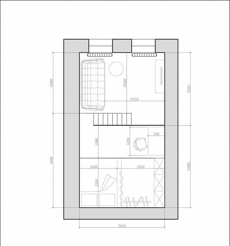 3-apartment-with-mezzanine-floor-plan-layout-scheme
